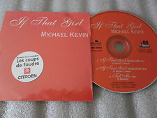 CD-MICHAEL KEVIN-IF THAT GIRL-TELL ME-COUP FOUDRE CITROEN-(CD SINGLE)1997-3TRACK