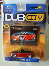 "JADA TOYS ""DUB CITY"" Lexus SC430 Red / Black # 058 NEW"