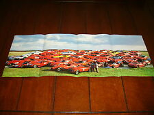 FERRARI   ***POSTER / ORIGINAL 1985 ARTICLE***