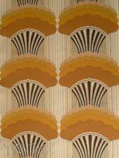 Tapete original 70er ocker braun geometrisch graphisch