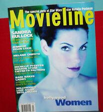MOVELINE - HOLLYWOOD WOMEN - NATALIE PORTMAN,SANDRA BULLOCK,