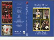 THE ROLLING STONES Bigger Bang In Buenos Aires 2/21/2006 Original DVD New
