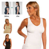 Tummy Fat Slimming Waist Trainer Vest Top Women Corset Plus size For Weight Loss