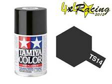 Tamiya TS-14 Black 100ml Color Plastics 85014 TS14 spray plastica nero