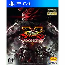 Capcom Street Fighter V Arcade Edition SONY PS4 PLAYSTATION 4 JAPANESE VERSION