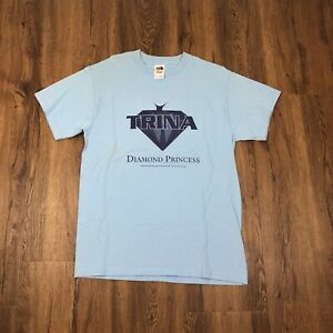 VTG NOS 2002 TRINA DIAMOND PRINCESS PROMO T SHIRT ATLANTIC RARE SLIP N SLIDE RAP