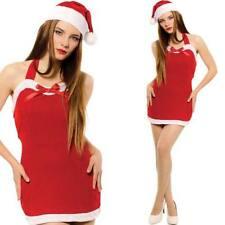 Déguisements costumes rouge pour femme Noël