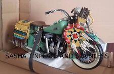 HARLEY DAVIDSON INDIAN bike motorcycle tinplate blechmodell voiture handmade