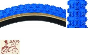 "SUNLITE MX3 KNOBBY 20"" x 2.125""  BLUE/SKINWALL BICYCLE TIRE--SINGLE"