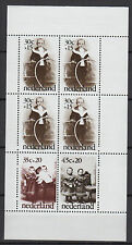 Pays-Bas Nederland 1974 une feuille 6 timbres neufs le bon vieux temps /T788