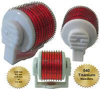 Youyaner Replacement Derma Roller Titanium Attachment (Size 0.25, 0.5, 0.75,1mm)