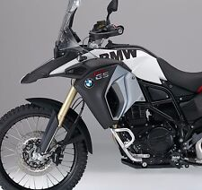 BMW F800GS Adventure BMW Side tank stickers (Black Semi Matte)