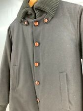 "Rare, Made in England, Yarmo ""Donkey Coat"" black, size 38"