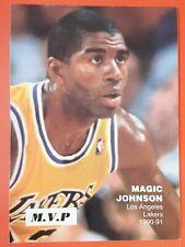 5 Card Lot - Mixed Basketball Cards - Bird, A. Johnson, Magic, Ewing, Hill