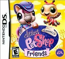 Littlest Pet Shop : Country Friends Nintendo DS 2009 Video Game Complete