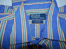 Polo Ralph Lauren Men's CURHAM Custom Fit Dress Shirt 16 1/2 34/35 Multicolored