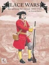 ENCAJE GUERRAS JUEGOS DE GUERRA EL PERÍODO DE 1660 - 1720 - PARTIZAN PRESS