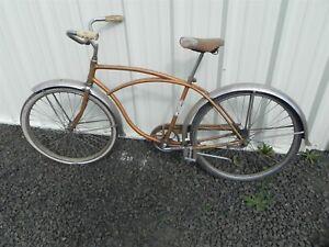 Vintage Original1960s Schwinn American Coaster Bicycle Ready for Restoration