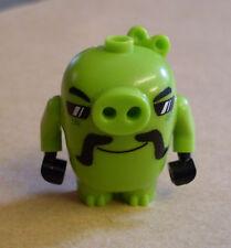 Lego The Angry Birds Movie - Biker Pig ( 75823 Schwein grün ) Neu