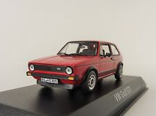 VW GOLF I GTI 1976 Rojo 1/43 Norev 840046 Volkswagen 1 RED RABBIT