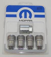 Mopar Dodge Chrome Wheel Lock Set 82212564 Sealed R8447