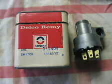 Delco NOS 55 56 Chevy 55-57 Corvette Ignition Switch 1116512 D-1404