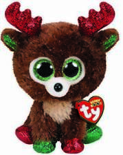 Ty TY36684 Fudge Reindeer Boo Xmas 2019