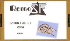 RetroKits Models 1/72 REBEL SPEEDER (GRAY) Empire Strikes Back Resin Kit