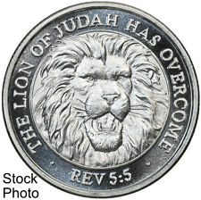 2008 Kingdom Shekel The Lion of Judah 1/2 oz .999 Fine Silver Round