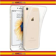 Funda de Silicona TPU para iPhone 8 Case Gel Cover Thin Ultrafina Transparente