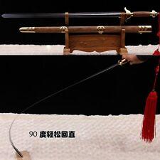 """Handmade Chinese Sword """"Tai chi Jian"""" Stainless Steel Blade Good Elasticity"""