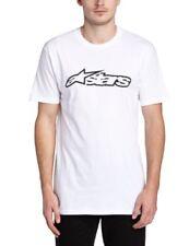 Alpinestars Blaze camiseta - blanco / negro Medium