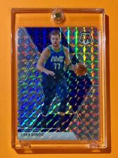 Luka Doncic SILVER REFRACTOR MOSAIC PRIZM HOT MAVS 2020 INVESTMENT CARD - Mint!