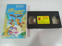 LOS RESCATADORES EN CANGUROLANDIA - Walt Disney - VHS Cinta Castellano