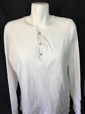 Jeremiah Women White Long Sleeve Scoop Neck Shirt Size Large Stretch Nordstorm