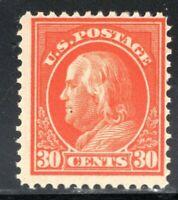 Sound US #420  MNH 1912 SL Watermark Perf 12 ~ 30c Franklin...[S]
