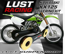LUST RACING Kawasaki KX125 Lowering kit 1997-2003 Drop Links Linkage Dogbones