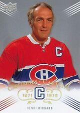 2008-09 Montreal Canadiens Centennial Captains Henri Richard #217