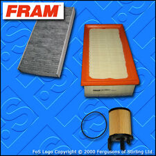 SERVICE KIT for PEUGEOT 407 1.6 HDI FRAM OIL AIR CABIN FILTERS (2004-2008)