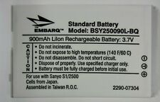 New Embarq Battery - Replaces Sanyo Scp-29Lbps for Sanyo S1 / Scp-2500
