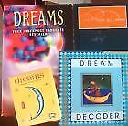 A Recipe For Dreaming, Bryce Courtney- Dream decoder , Dreams books x 4
