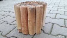 Rolli - Recinzione ad incastro, per aiuole o sentieri. In legno di pino robusto.