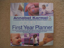 Like New Complete First Year Planner by Annabel Karmel Baby Toddler Meal Planner