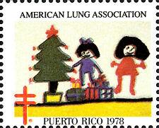 USA postfrisch MNH Weihnachten 1978 Puerto Rico Kinder Gemälde Weihnachtsbaum