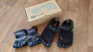 Vibram Five Fingers KSO Barefoot Running Shoes Womens Size 38 (Size 5) Black