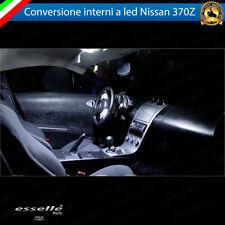 KIT FULL LED INTERNI PER NISSAN 370Z CONVERSIONE COMPLETA 6000K CANBUS NO AVARIA