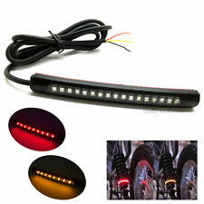 Bendable LED Tail Light Strip Turn Signal Indicator 2835 SMD Motorcycle Blinkers