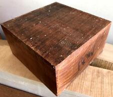 Exotic Olive Wood Bowl Blank 6x6x3 Wood LatheTurning Holy Crosses Knife Handles