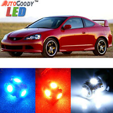 8 x Premium Xenon White LED Lights Interior Package Kit for Acura RSX 2002-2006