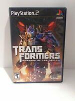 Transformers: Revenge of the Fallen (Sony PlayStation 2, 2009)  CIB Tested